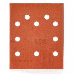 Milwaukee brúsny papier 115 x 140 mm, zrnitosť 240 (10 ks)