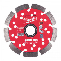 Milwaukee diamantový rezací kotúč HUDD 125