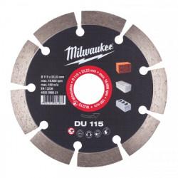 Milwaukee diamantový rezací kotúč DU 115