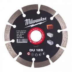 Milwaukee diamantový rezací kotúč DU 125