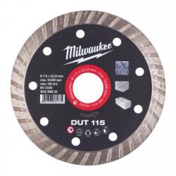 Milwaukee diamantový rezací kotúč DUT 115