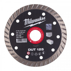 Milwaukee diamantový rezací kotúč DUT 125