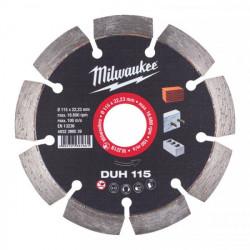 Milwaukee diamantový rezací kotúč DUH 115