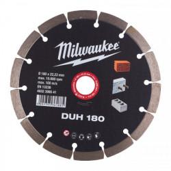 Milwaukee diamantový rezací kotúč DUH 180