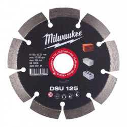 Milwaukee diamantový rezací kotúč DSU 125