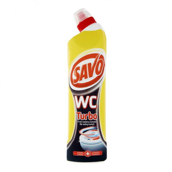 Savo čistiaci a dezinfekčný prípravok na toalety Turbo 750 ml