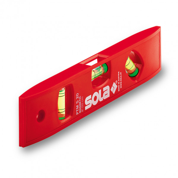 SOLA vodováha plastová magnetická PTM 5 20