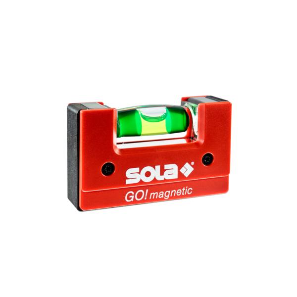 SOLA kompaktná vodováha GO! Magnetic