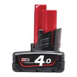 Milwaukee batéria M12 B4 4.0 Ah