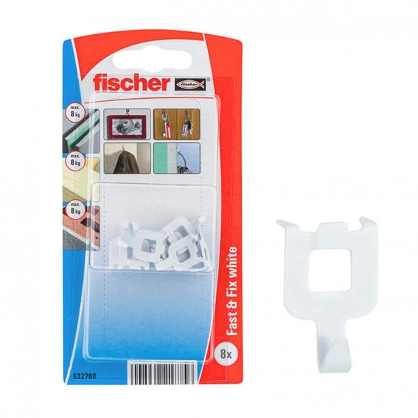 Fischer Fast and Fix white K háčik