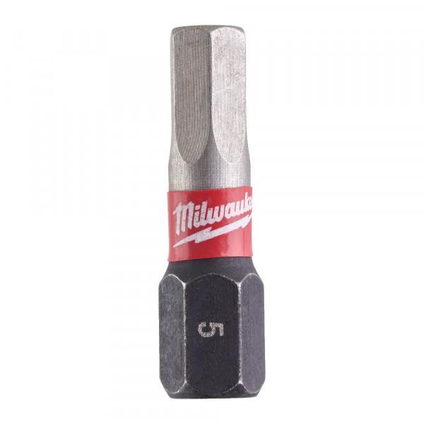 Milwaukee skrutkovací bit Shockwave HEX5 25mm (2ks)