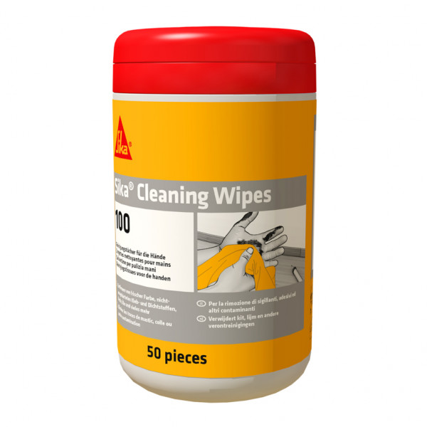 Sika Cleaning Wipes-100 50 ks
