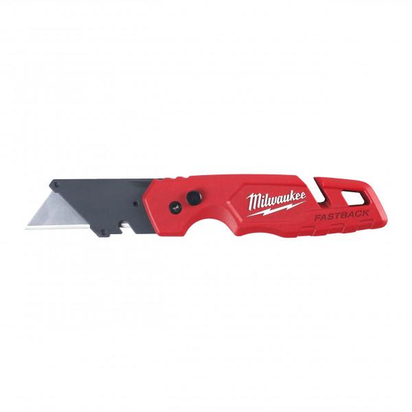 Milwaukee sklápací univerzálny nôž so zásobníkom FASTBACK III