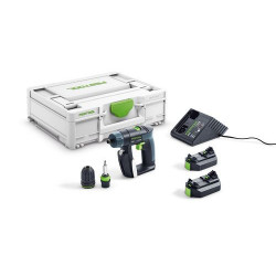 Festool CXS 2,6-Plus akumulátorový vŕtací skrutkovač