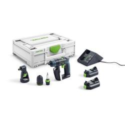 Festool CXS 2,6-Set akumulátorový vŕtací skrutkovač