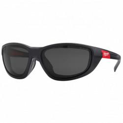 Milwaukee ochranné okuliare PREMIUM s tesnením tónované