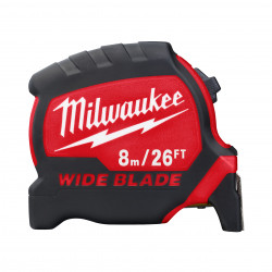 Milwaukee meracie pásmo PREMIUM WIDE BLADE 8 m - 26 ft / 33 mm