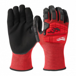 Milwaukee demolačné rukavice proti prerezaniu stupeň 3