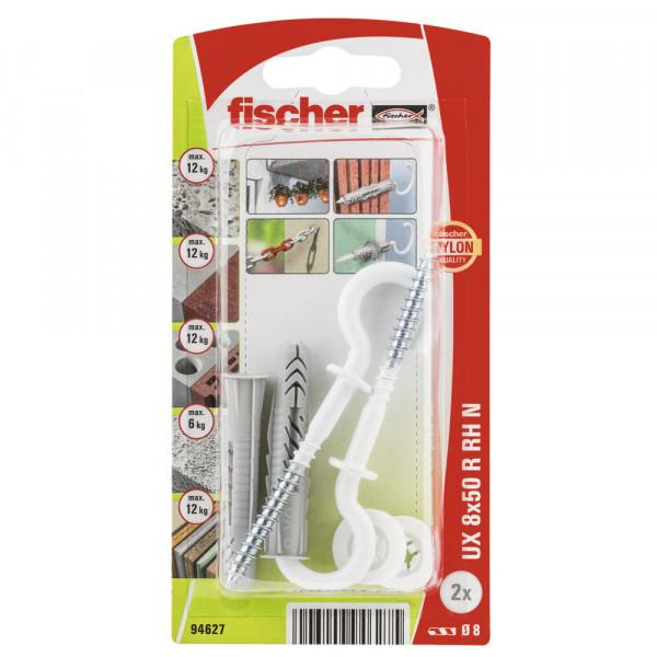 Fischer hmoždinka UX 8x50 RH N s hákom