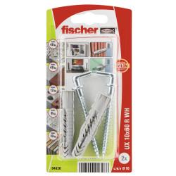 Fischer hmoždinka UX 10x60 R WH so skobou (2 ks)