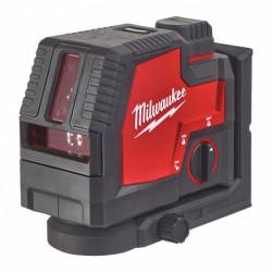 Milwaukee L4 CLL-301C krížový líniový laser so zeleným svetlom s USB