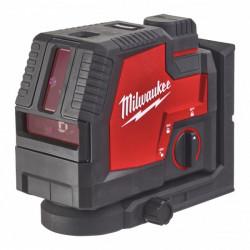 Milwaukee L4 CLLP-301C kombinovaný líniový-bodový laser USB