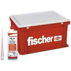 Fischer montážny box HWK plný Fischer malty FIS VL410C