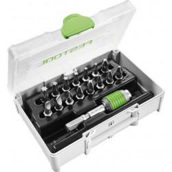 Festool SYS3 XXS CE-MX BHS 60 sortiment skrutkovacích hrotov