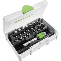 Festool SYS3 XXS CE-TX BHS 60 sortiment skrutkovacích hrotov