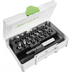 Festool SYS3 XXS CE-MX BH 60 sortiment skrutkovacích hrotov