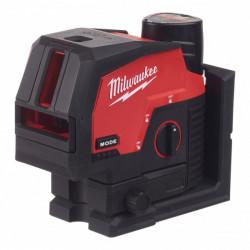 Milwaukee M12 CLLP-301C zelený kombinovaný krížový líniový-bodový laser