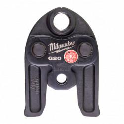 Milwaukee čeľuste pre hydraulický lis J12-G20