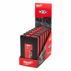 Milwaukee sada 4-britých vrtákov MX4 SDS-Plus (6 x 7 ks)