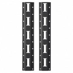 Milwaukee PACKOUT montážne lišty E-Track regálového systému 50 cm (2 ks)