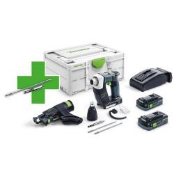 Festool DWC 18-4500 4,0 I-Plus P21 akumulátorový skrutkovač na stavbu