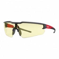 Milwaukee ochranné okuliare proti poškriabaniu - žlté