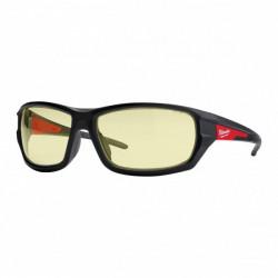 Milwaukee ochranné okuliare PREMIUM - žlté