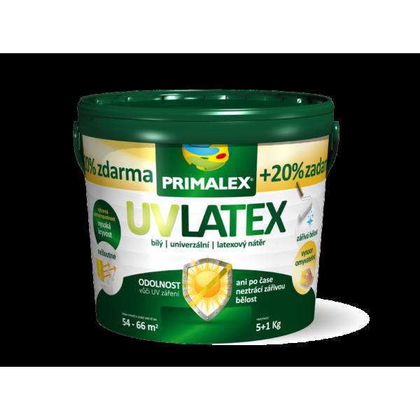 Primalex UV Latex Interiérová farba 0,8 + 0,2 kg