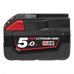Milwaukee batéria M28 B5 5.0 Ah