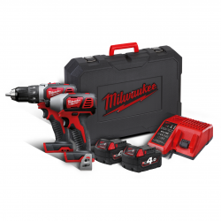 Milwaukee set náradia M18 BPP2D-402C