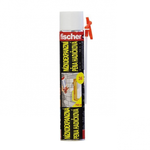 Fischer PU pena nízkoexpanzná (hadičková) 750 ml