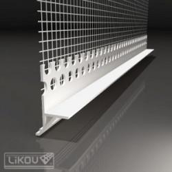 Likov lišta LE-LTD ukončovacia s okapnicou 2,5 m