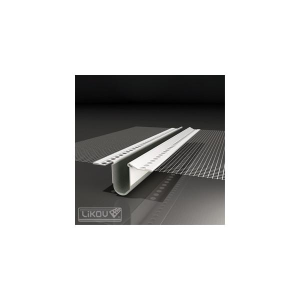 Likov lišta PVC dilatačná priebežná LD-LS 2,5m