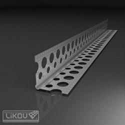 Likov lišta G-LP 23x23 ochranný roh 2,5m vrubovaná