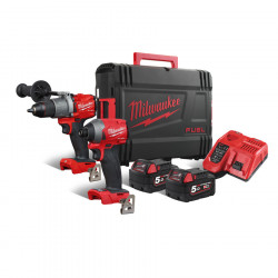 Milwaukee set náradia M18 FPP2A2-502X
