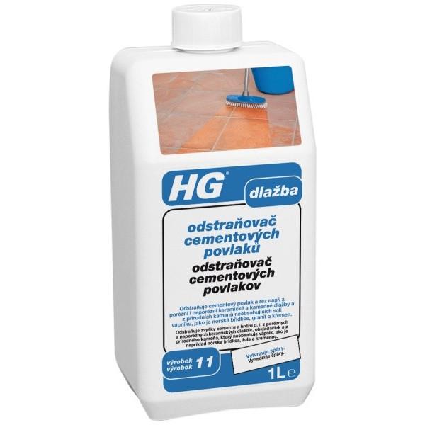 HG odstraňovač cementových povlakov 1 l