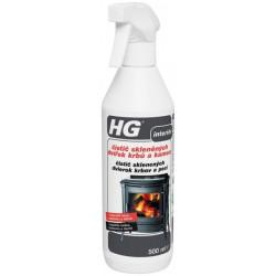 HG čistič sklenených dvier. krbov 650 ml