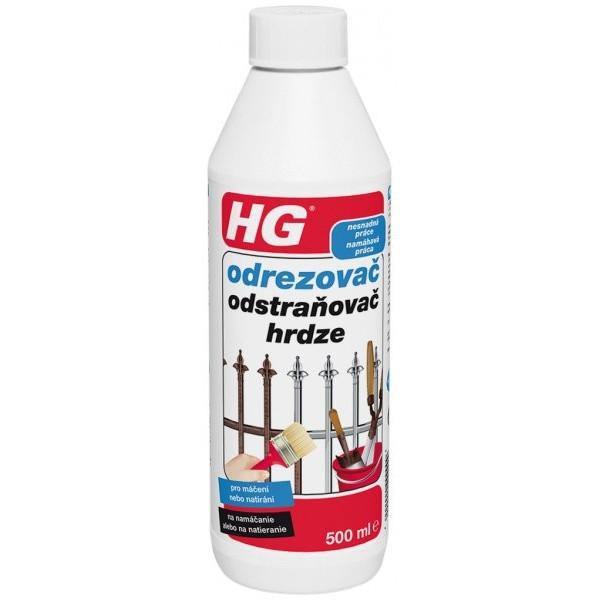 HG odstraňovač hrdze 0,5 l
